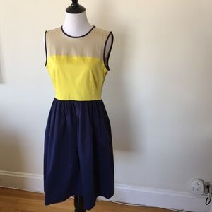 Kate Spade New York Jerry Colorblock Dress Size 8